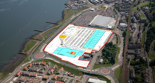 Gallagher  Shopping Park, Port Glasgow