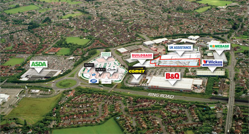Gallagher Shopping, Retail and Trade Parks, Longwell Green, Bristol